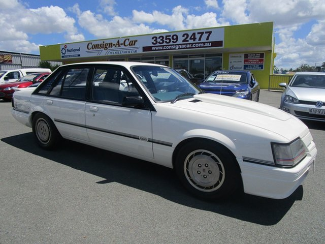 Used Holden Commodore VK , 1984 Holden Commodore VK SS BROCK White Sedan