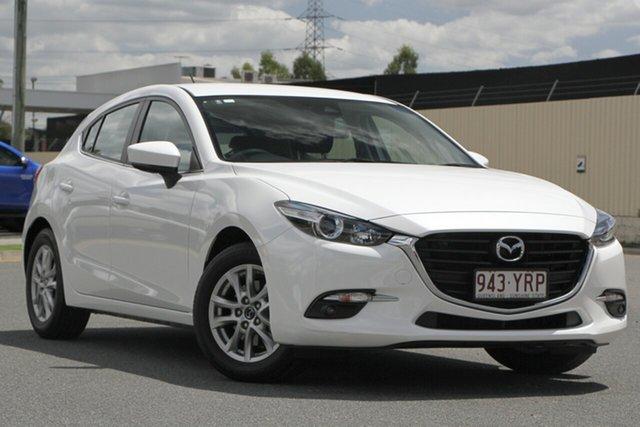Used Mazda 3 BN5478 Maxx SKYACTIV-Drive Sport, 2018 Mazda 3 BN5478 Maxx SKYACTIV-Drive Sport White 6 Speed Sports Automatic Hatchback