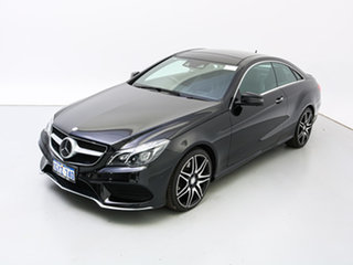 2014 Mercedes-Benz E400 207 MY13 Black 7 Speed Automatic Coupe