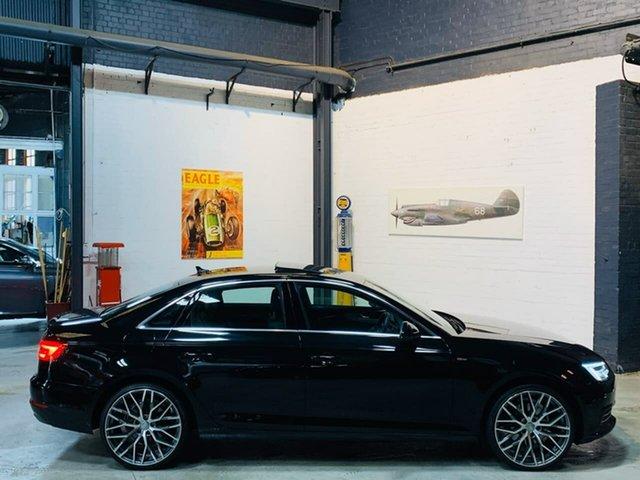 Used Audi A4 B9 8W MY17 Sport S Tronic, 2016 Audi A4 B9 8W MY17 Sport S Tronic Black 7 Speed Sports Automatic Dual Clutch Sedan