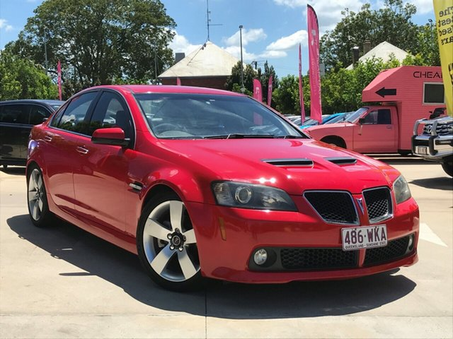 Used Holden Commodore VE MY09.5 SS V, 2009 Holden Commodore VE MY09.5 SS V Red 6 Speed Sports Automatic Sedan