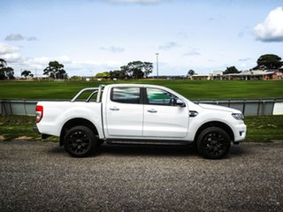 2019 Ford Ranger PX MkIII 2019.75MY XLT Pick-up Double Cab Arctic White 10 Speed Sports Automatic.