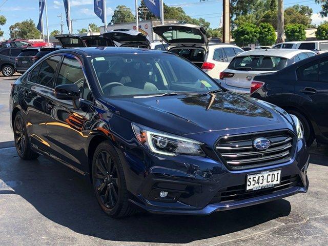 Demo Subaru Liberty B6 MY20 2.5i CVT AWD Sports Premium, 2019 Subaru Liberty B6 MY20 2.5i CVT AWD Sports Premium Dark Blue Pearl 6 Speed Constant Variable