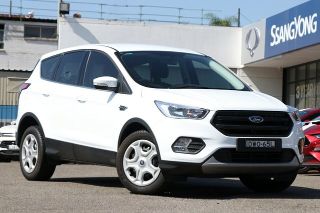 Used Ford Escape ZG 2018.00MY Ambiente 2WD, 2018 Ford Escape ZG 2018.00MY Ambiente 2WD White 6 Speed Sports Automatic Wagon