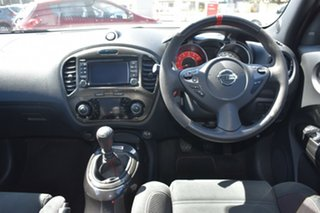 2018 Nissan Juke F15 MY18 NISMO 2WD RS White 6 Speed Manual Hatchback