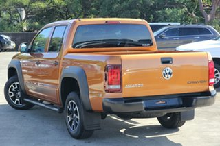 2019 Volkswagen Amarok 2H MY19 TDI550 4MOTION Perm Canyon Orange 8 Speed Automatic Utility.