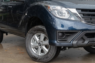 2019 Mazda BT-50 UR0YG1 XT 4x2 Hi-Rider Deep Crystal Blue 6 Speed Sports Automatic Utility.