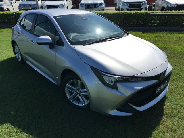 Used Toyota Corolla Mzea12R Ascent Sport, 2018 Toyota Corolla Mzea12R Ascent Sport Silver Pearl 10 Speed Constant Variable Hatchback