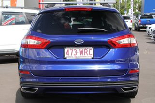2016 Ford Mondeo MD Ambiente PwrShift Blue 6 Speed Sports Automatic Dual Clutch Wagon