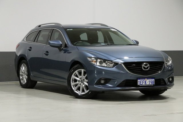 Used Mazda 6 6C Touring, 2013 Mazda 6 6C Touring Blue 6 Speed Automatic Wagon