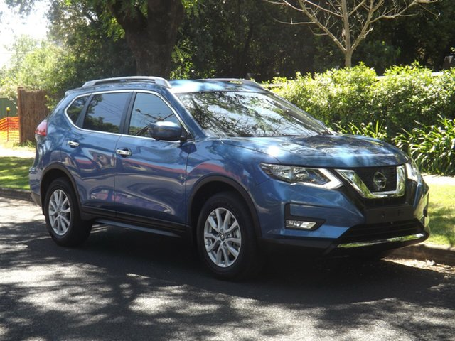 Demo Nissan X-Trail T32 Series II ST-L X-tronic 2WD, 2019 Nissan X-Trail T32 Series II ST-L X-tronic 2WD Blue 7 Speed Constant Variable Wagon