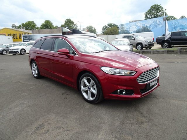 Used Ford Mondeo MD 2018.25MY Trend PwrShift, 2018 Ford Mondeo MD 2018.25MY Trend PwrShift Ruby Red 6 Speed Sports Automatic Dual Clutch Wagon