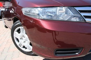 2013 Honda City GM MY12 VTi Maroon 5 Speed Automatic Sedan.