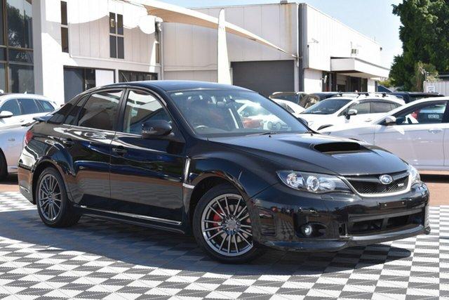 Used Subaru Impreza G3 MY13 WRX AWD, 2012 Subaru Impreza G3 MY13 WRX AWD Black 5 Speed Manual Sedan