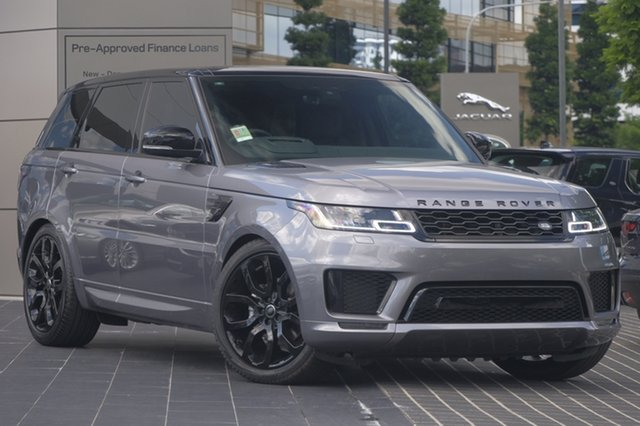 Demo Land Rover Range Rover Sport L494 20MY SDV6 HSE Dynamic, 2019 Land Rover Range Rover Sport L494 20MY SDV6 HSE Dynamic Eiger Grey 8 Speed Sports Automatic