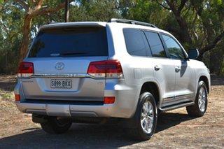 2016 Toyota Landcruiser VDJ200R Sahara Silver 6 Speed Sports Automatic Wagon.