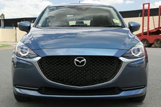 2021 Mazda 2 DJ2HAA G15 SKYACTIV-Drive Pure Eternal Blue 6 Speed Sports Automatic Hatchback