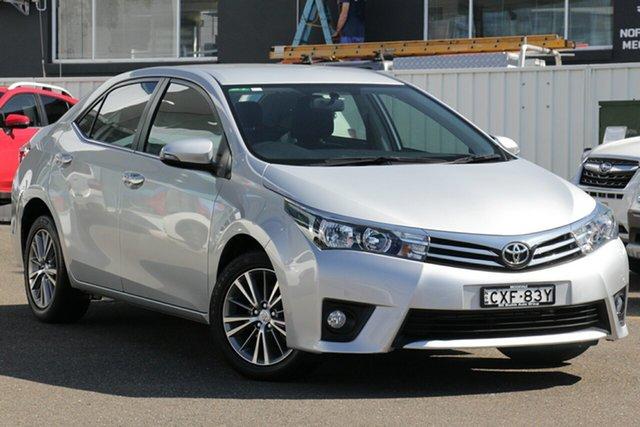 Used Toyota Corolla ZRE172R SX S-CVT, 2014 Toyota Corolla ZRE172R SX S-CVT Silver 7 Speed Constant Variable Sedan