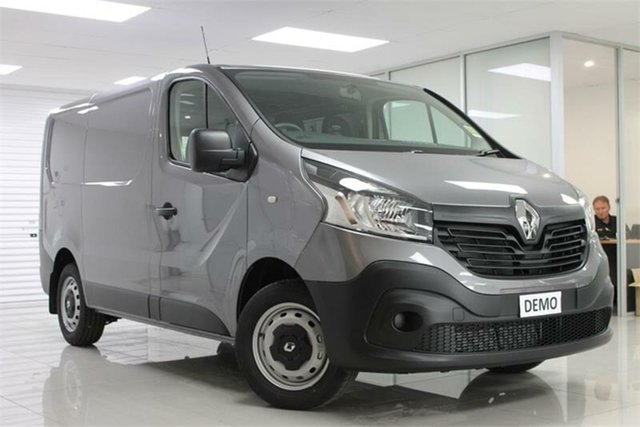 Demo Renault Trafic X82 , 2019 Renault Trafic X82 85kW Oyster Grey 6 Speed Manual Van