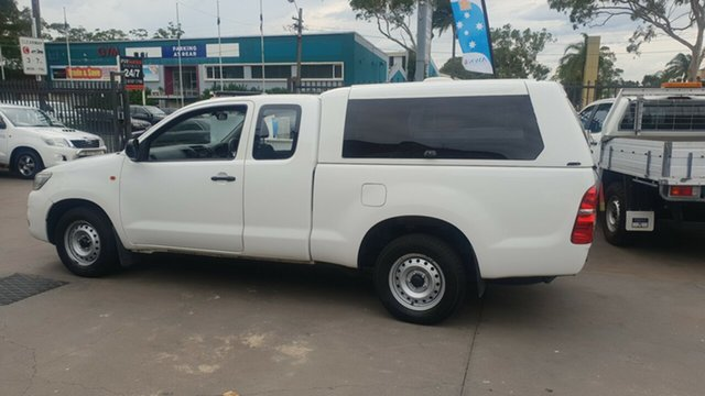 Used Toyota Hilux GGN15R MY12 SR, 2013 Toyota Hilux GGN15R MY12 SR White 5 Speed Automatic X Cab Pickup