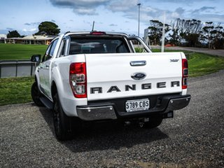 2019 Ford Ranger PX MkIII 2019.75MY XLT Pick-up Double Cab Arctic White 10 Speed Sports Automatic