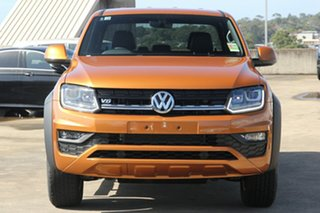 2019 Volkswagen Amarok 2H MY19 TDI550 4MOTION Perm Canyon Orange 8 Speed Automatic Utility