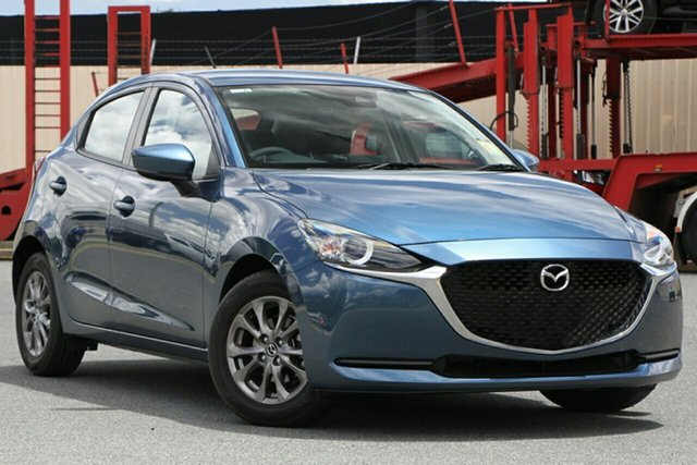 New Mazda 2 DJ2HAA G15 SKYACTIV-Drive Pure North Rockhampton, 2021 Mazda 2 DJ2HAA G15 SKYACTIV-Drive Pure Eternal Blue 6 Speed Sports Automatic Hatchback