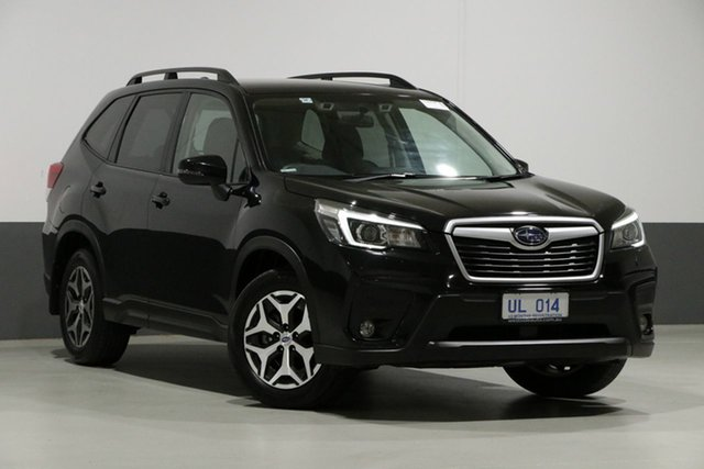 Used Subaru Forester MY19 2.5I-S (AWD), 2018 Subaru Forester MY19 2.5I-S (AWD) Crystal Black Continuous Variable Wagon