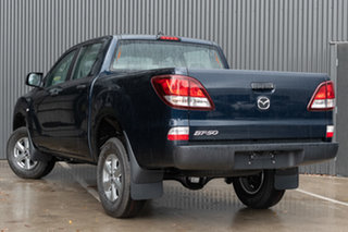 2019 Mazda BT-50 UR0YG1 XT 4x2 Hi-Rider Deep Crystal Blue 6 Speed Sports Automatic Utility