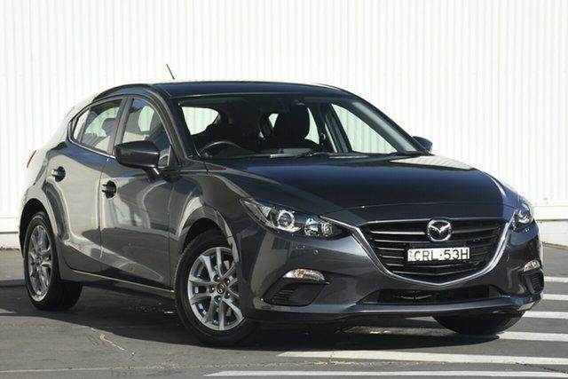 Used Mazda 3 BM5478 Maxx SKYACTIV-Drive, 2014 Mazda 3 BM5478 Maxx SKYACTIV-Drive Grey 6 Speed Sports Automatic Hatchback