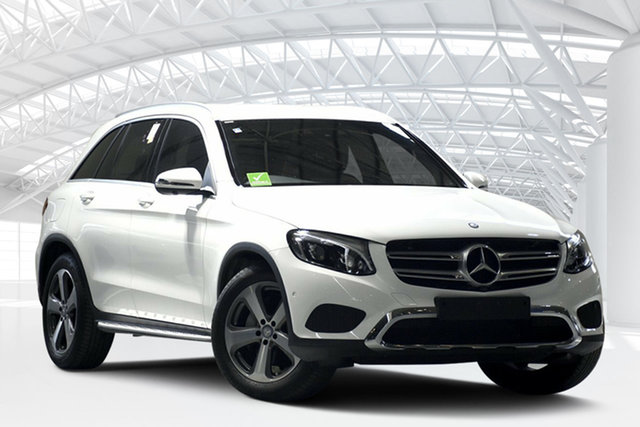 Used Mercedes-Benz GLC-Class X253 GLC220 d 9G-Tronic 4MATIC, 2016 Mercedes-Benz GLC-Class X253 GLC220 d 9G-Tronic 4MATIC White 9 Speed Sports Automatic Wagon