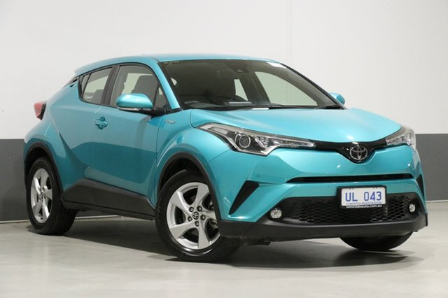 Used Toyota C-HR NGX10R Update (2WD), 2018 Toyota C-HR NGX10R Update (2WD) Green Continuous Variable Wagon