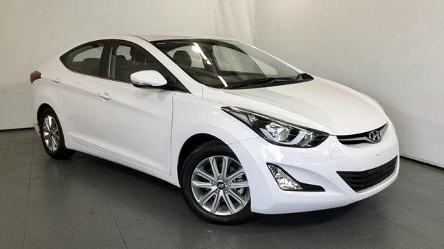 Used Hyundai Elantra MD3 SE, 2015 Hyundai Elantra MD3 SE White 6 Speed Sports Automatic Sedan