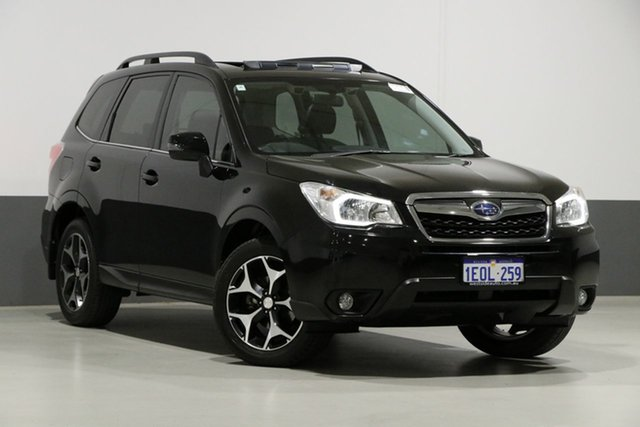 Used Subaru Forester MY14 2.5I-S, 2015 Subaru Forester MY14 2.5I-S Black Continuous Variable Wagon
