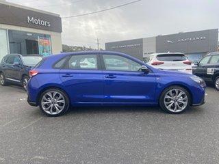2019 Hyundai i30 PD.3 MY19 N Line D-CT Intense Blue 7 Speed Sports Automatic Dual Clutch Hatchback.