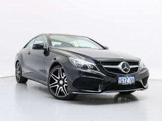 2014 Mercedes-Benz E400 207 MY13 Black 7 Speed Automatic Coupe.