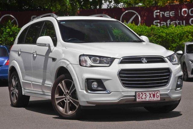 Used Holden Captiva CG MY18 LTZ AWD, 2017 Holden Captiva CG MY18 LTZ AWD White 6 Speed Sports Automatic Wagon
