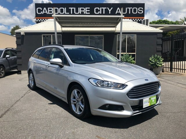 Used Ford Mondeo MD Ambiente TDCi, 2015 Ford Mondeo MD Ambiente TDCi Silver 6 Speed Automatic Wagon