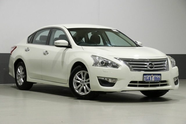 Used Nissan Altima L33 ST, 2016 Nissan Altima L33 ST Pearl White Continuous Variable Sedan