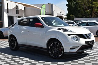 2018 Nissan Juke F15 MY18 NISMO 2WD RS White 6 Speed Manual Hatchback.