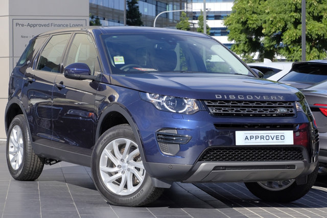 Demo Land Rover Discovery Sport L550 19MY TD4 132kW SE, 2018 Land Rover Discovery Sport L550 19MY TD4 132kW SE Loire Blue 9 Speed Sports Automatic Wagon