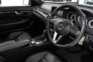 2014 Mercedes-Benz C-Class C204 MY14 C180 7G-Tronic + Silver 7 Speed Sports Automatic Coupe