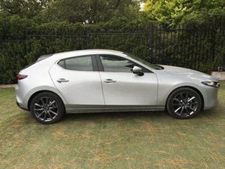 2019 Mazda 3 BP2HL6 G25 SKYACTIV-MT Evolve Sonic Silver 6 Speed Manual Hatchback.