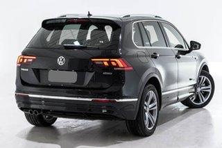 2019 Volkswagen Tiguan 5N MY19.5 132TSI DSG 4MOTION R-Line Edition Black 7 Speed.