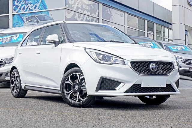 New MG MG3 SZP1 MY18 Excite, 2019 MG MG3 SZP1 MY18 Excite White 4 Speed Automatic Hatchback