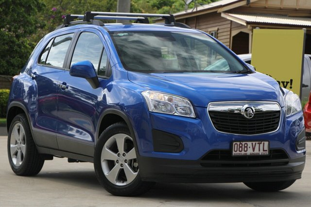 Used Holden Trax TJ MY15 Active, 2015 Holden Trax TJ MY15 Active Blue 6 Speed Automatic Wagon