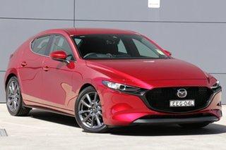 2019 Mazda 3 BP2H7A G20 SKYACTIV-Drive Evolve Soul Red Crystal 6 Speed Sports Automatic Hatchback.