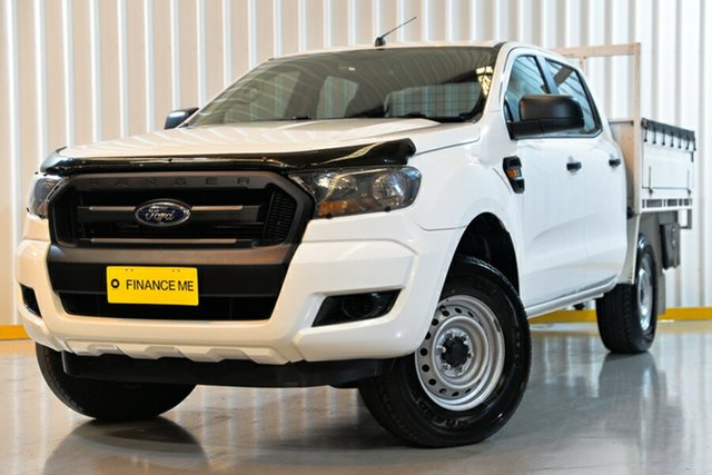 Used Ford Ranger PX MkII XL Double Cab, 2016 Ford Ranger PX MkII XL Double Cab White 6 Speed Manual Cab Chassis
