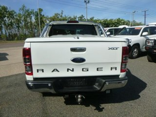 2014 Ford Ranger PX XLT Double Cab White 6 Speed Sports Automatic Utility