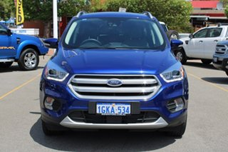 2016 Ford Escape ZG Titanium PwrShift AWD Blue 6 Speed Sports Automatic Dual Clutch Wagon.